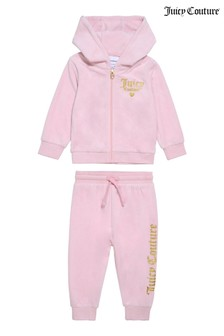Juicy Couture Juicy Velour Hoody And Jogger Set