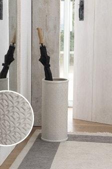 Tile Print Ceramic Umbrella Stand