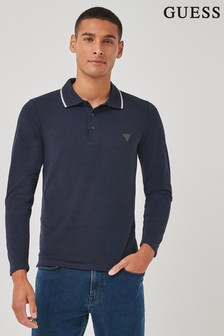 Guess Oliver Long Sleeved Polo Shirt