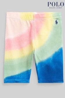Ralph Lauren Tie Dye Logo Cycling Shorts