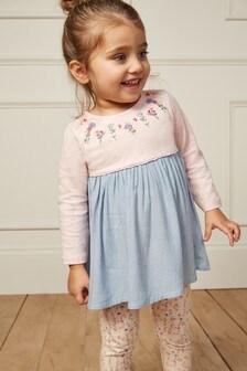 Dress And Leggings Set (3mths-7yrs)