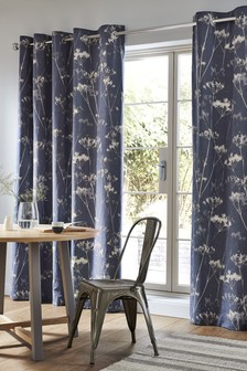 Cow Parsley Print Curtains