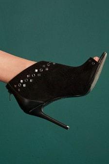 Stud Detail Shoe Boots