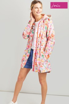 Joules Pink Golightly Waterproof Packaway Jacket