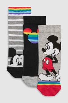 Mickey Mouse™ Socks Three Pack (Younger)