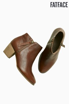 FatFace Acorn Zip Ankle Boot