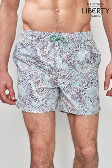 Liberty Print Swim Shorts