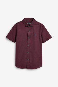 Short Sleeve Oxford Shirt (3yrs-16mths)