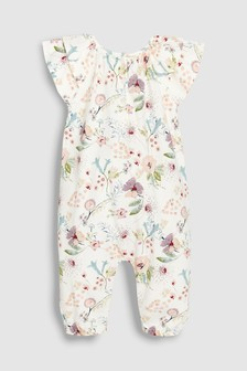 Floral Jersey Playsuit (0mths-2yrs)