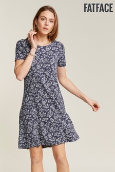 FatFace Blue Simone Prairie Dress