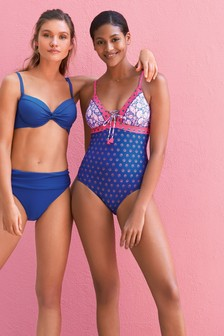 Spliced Swimsuit