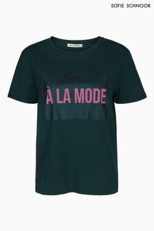 Sofie Schnoor Green LA Mode T-Shirt