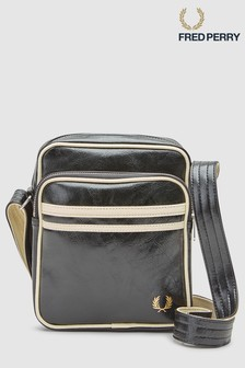 Fred Perry Black Classic Side Bag