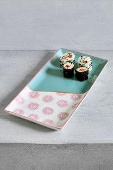 Floral Serve Platter