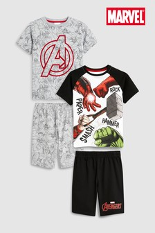 Avengers Pyjamas Two Pack (3-12yrs)