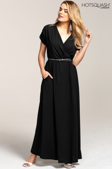 HotSquash Black Maxi Dress