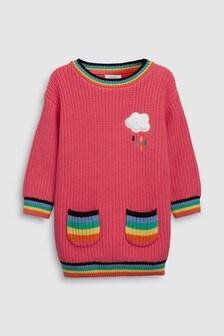 Rainbow Pocket Jumper Dress (3mths-7yrs)