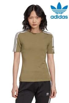 adidas Womens Originals Adicolour 3 Stripe T-Shirt