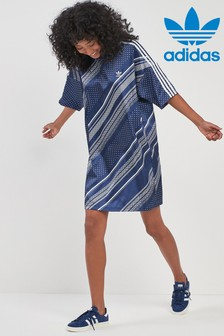 adidas Originals Dark Blue Trefoil Dress