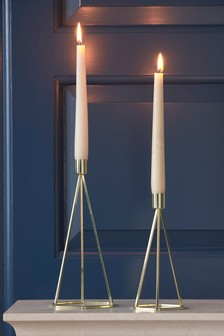Hexagon Taper Candle Sticks