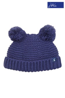 Joules Navy Knitted Hat