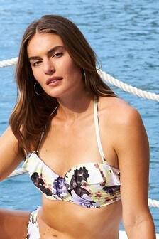 Frill Bandeau Bikini Top