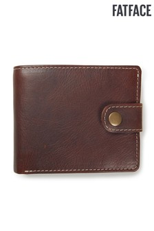 FatFace Chocolate Charlie Contrast Stitch Wallet