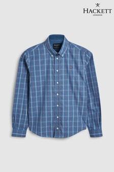 Hackett Kids Artic Blue Shirt