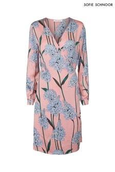 Sofie Schnoor Pink Floral Wrap Dress