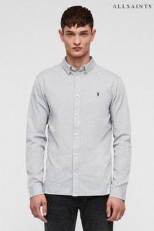 All Saints Redondo Slim Fit Shirt