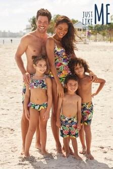 Matching Family Womens Fruit Print Tankini