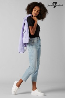 7 For All Mankind® Vintage Wash Mom Fit Jean