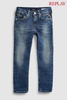 Replay® Kids Light Wash Regular Fit Jean