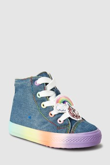 Rainbow High Top Trainers (Younger)