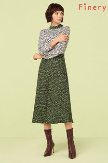 Finery London Multi Sara Print Tea Dress