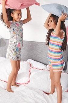 Character Short Pyjamas Two Pack (3-16yrs)