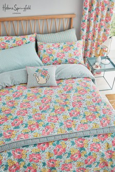Helena Springfield Vintage Mary Jane Duvet Cover And Pillowcase Set