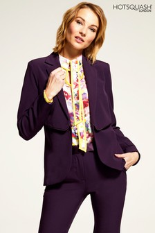 HotSquash Damson Mayfair Jacket With Cufflink Button