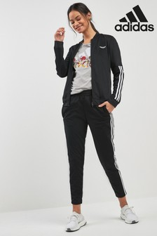 adidas Black Back2Base Tracksuit