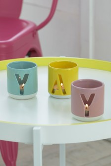 Set of 3 Yay Tea Light Holders