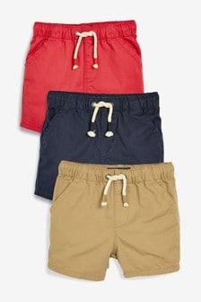Pull-On Shorts Three Pack (3mths-7yrs)