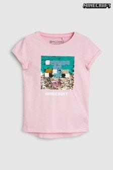 Minecraft Sequin T-Shirt (3-16yrs)