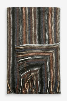 Stripe Soft Touch Scarf