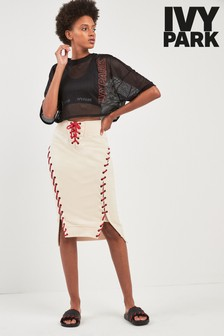Ivy Park Sand Craft Skirt