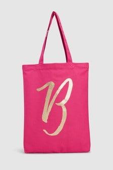 Initial Shopper Bag