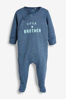 Brother Slogan Sleepsuit (0-18mths)