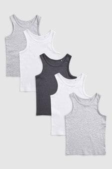 Vests Five Pack (1.5-16yrs)