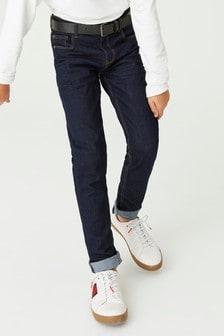Five Pocket Belted Jeans (3-16yrs)