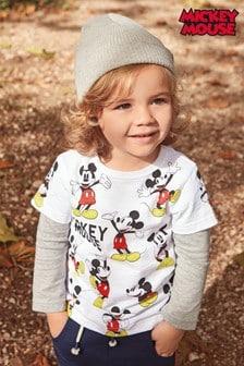 Mickey Mouse™ Long Sleeve T-Shirt (3mths-6yrs)
