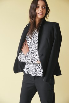 8834b5266c0 Single Breasted Tailored Fit Jacket